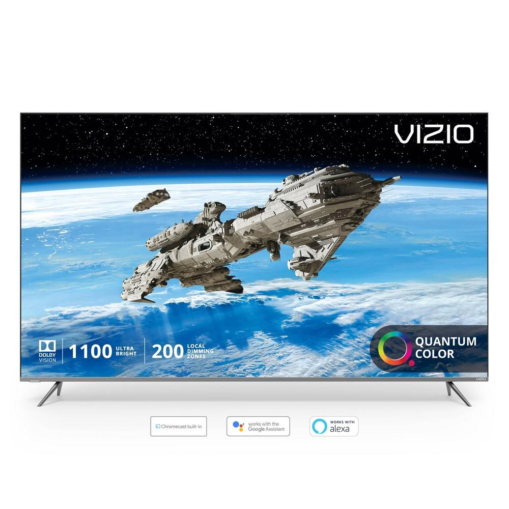 Vizio P-Series Quantum 65  Class (64.5  diag.) 4K Hdr Smart TV Take a quantum leap forward in color, clarity, and contrast with the all-new Vizio P-Series Quantum 65  Class (64.5  diag.) 4K Hdr Smart TV featuring VIZIO's next-generation Quantum Color.