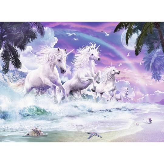 Ravensburger Unicorn Beach Puzzle 150pc, Kids Unisex image number null