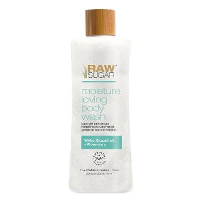 Raw Sugar Moisture Loving Body Wash Grapefruit + Rosemary - 25 fl oz