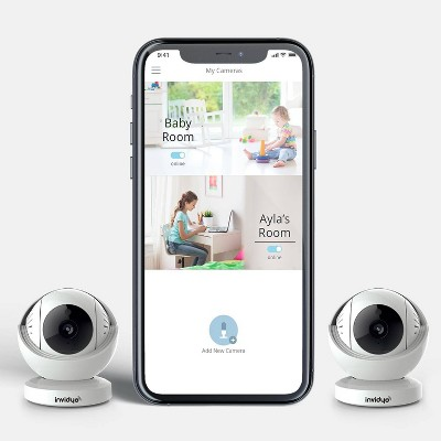 Invidyo World's Smartest Video Baby Monitor - 2pk