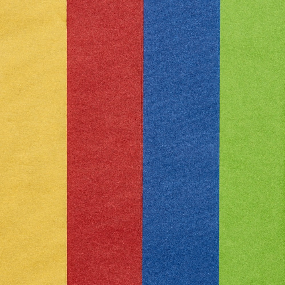 Papyrus Primary Spectrum Tissue Paper, Multi-Colored