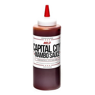 Capital City Mild Mambo Sauce - 12oz