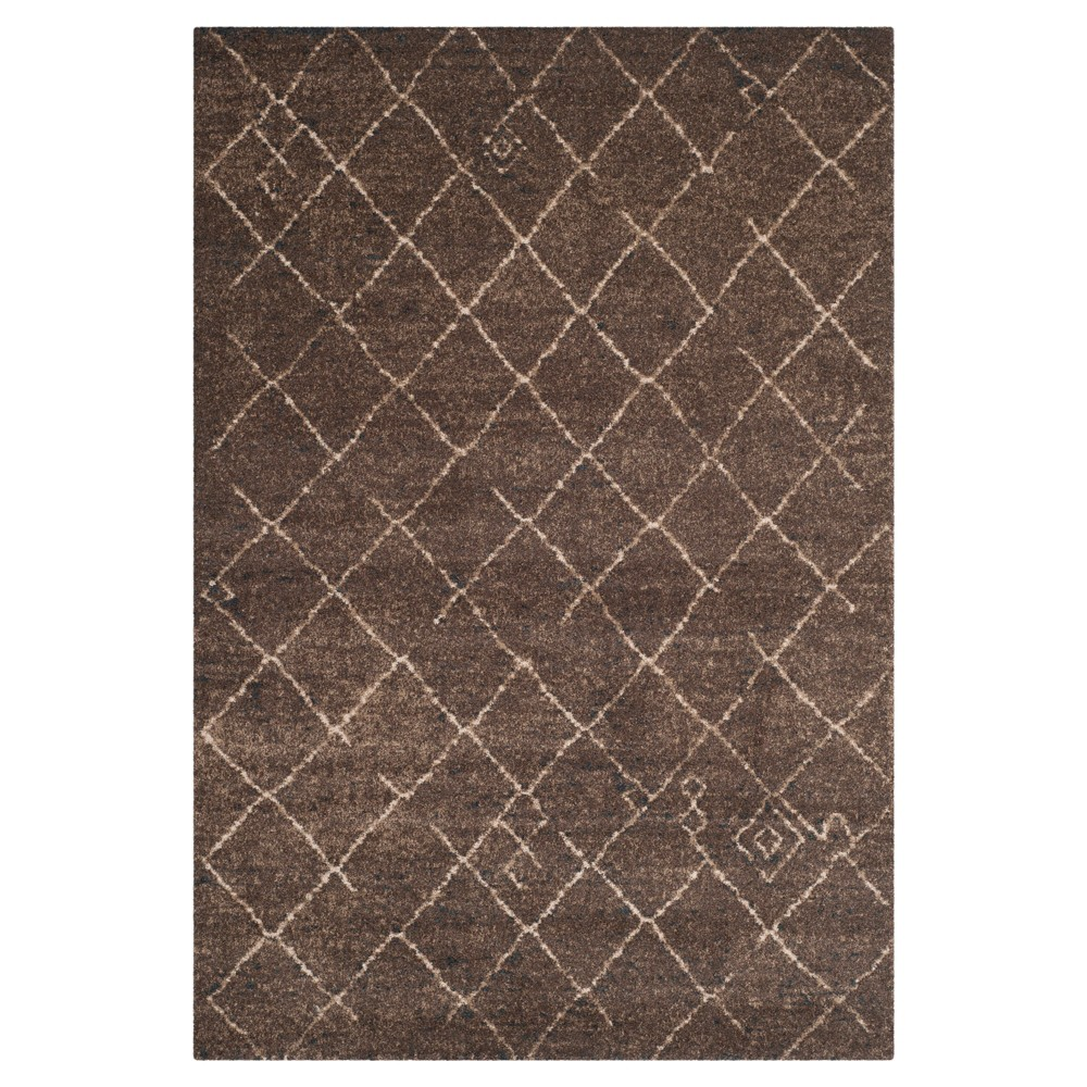 Tunisia Rug - Dark Brown - (3'x5') - Safavieh