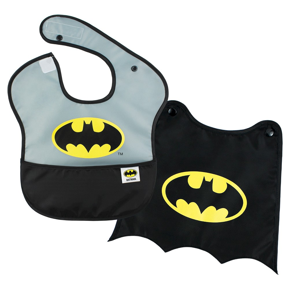 Image of Bumkins Baby Boys' Batman Waterproof Superbib With Cape