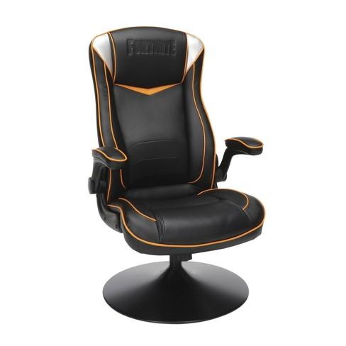 Console Gaming Chair Black Orange White