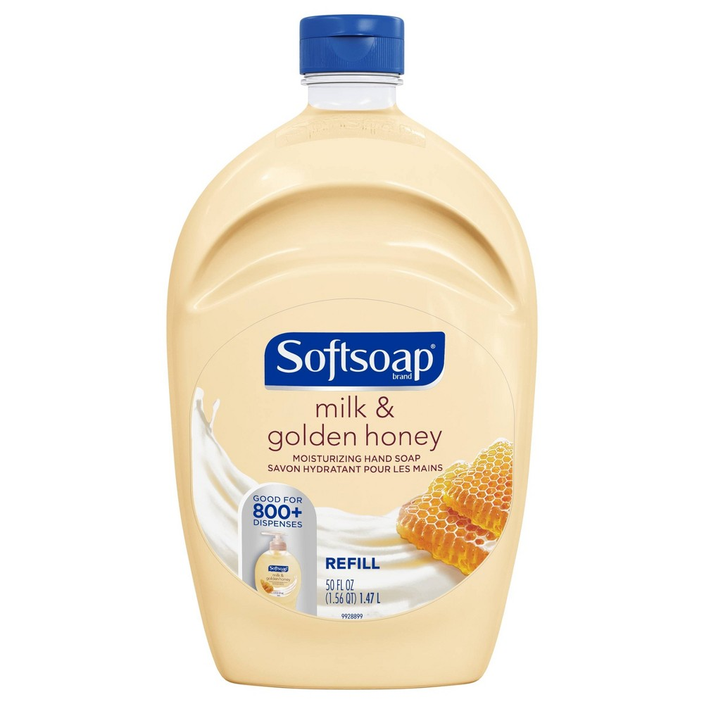 Image of Softsoap Liquid Hand Soap Refill - Milk & Honey - 50 fl oz