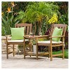 Belize Meranti Adjoined 2-Seater - Cream & Honey Oak - Christopher Knight Home - image 2 of 4