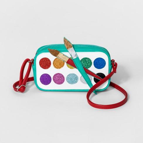 1dca67c1a2 Girls  Paint Crossbody Bag - Cat   Jack™   Target