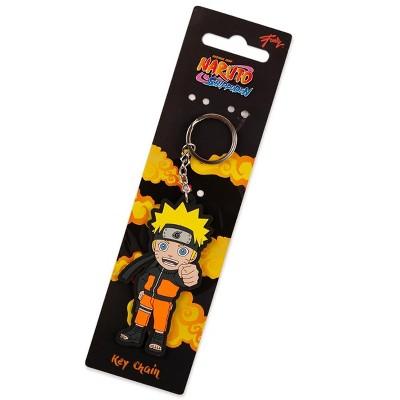 Just Funky Naruto Shippuden Series Collectible PVC Character Keychain | Naruto Uzumaki
