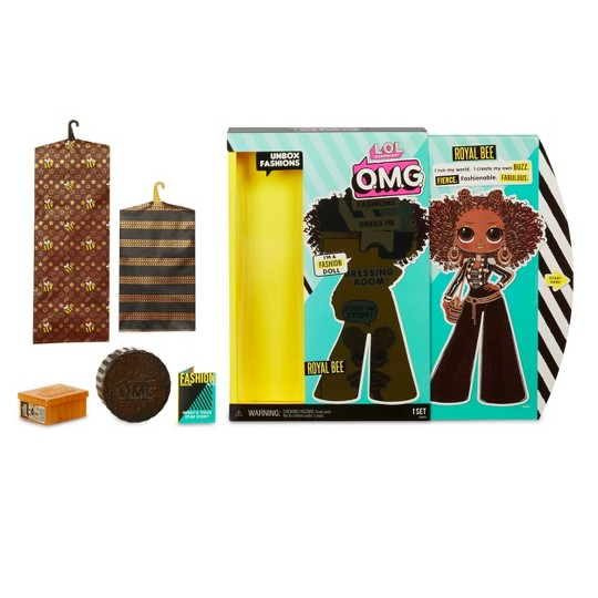 L.O.L. Surprise! O.M.G. Royal Bee Fashion Doll with 20 Surprises image number null