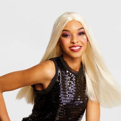 Adult Long/Sleek Blonde Halloween Wig - Hyde & EEK! Boutique™