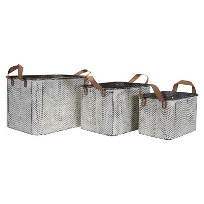 Leather Storage Bins Target, Faux Leather Storage Bin Target