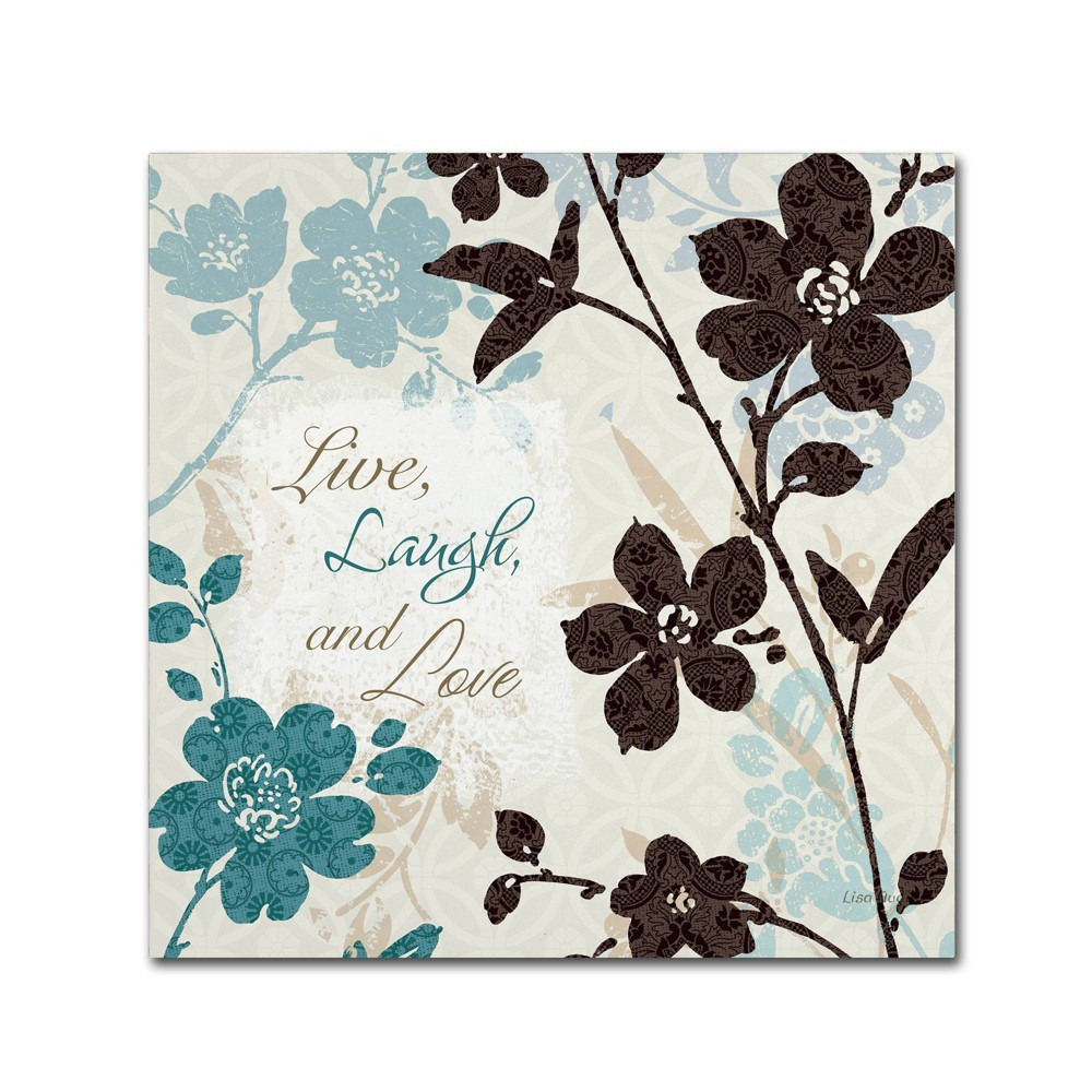 14 34 X 14 34 Botanical Touch Quote Ii By Lisa Audit Trademark Fine Art