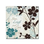 24 X 24 Botanical Touch Quote I By Lisa Audit Trademark Fine Art Target
