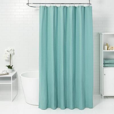 Waffle Weave Shower Curtain - Threshold™