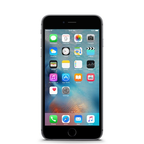 Consumer Cellular Apple iPhone 6S 32GB - Space Gray - image 1 of 3