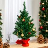 Best Choice Products 22in Pre-Lit Tabletop Artificial Christmas Tree w/ LED Lights, Berries, Ornaments - image 3 of 4