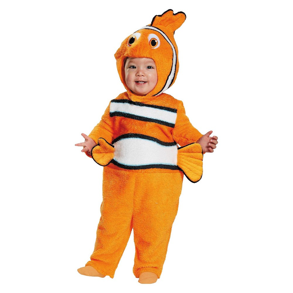 Baby Nemo Prestige Costume 6-12Months, Infant Unisex, Size: 6-12M, Orange