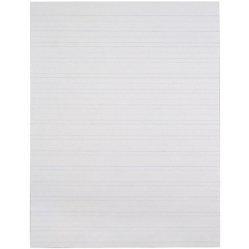 School Smart Primary Chart Paper, Skip-A-Line, 24 x 32 Inches, White, 500 Sheets - image 1 of 1