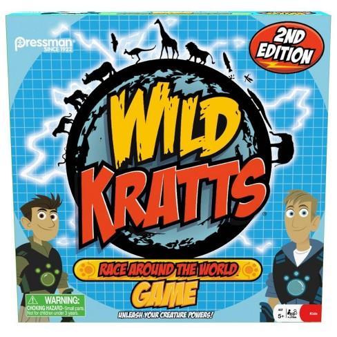 Pressman Wild Kratts Race Around the World Board Game - image 1 of 4