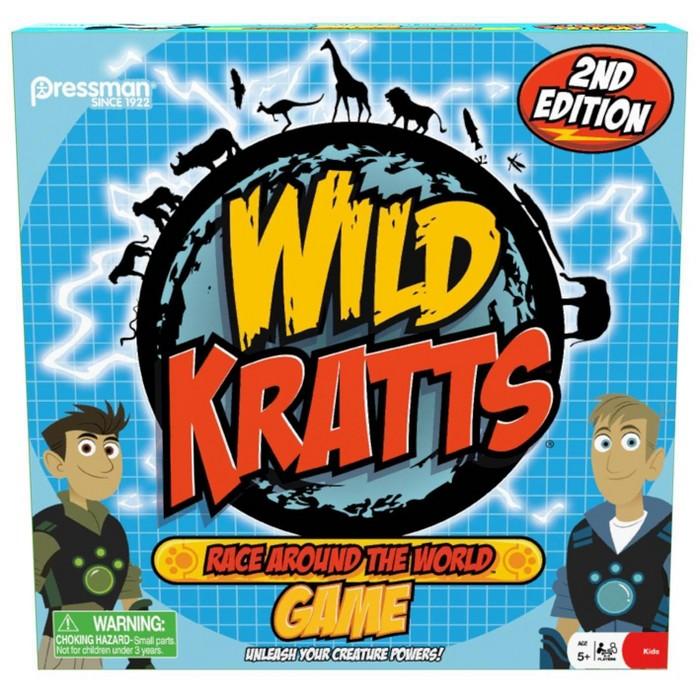 Pressman Wild Kratts Race Around The World Board Game : Target