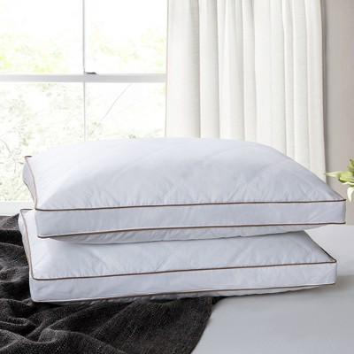 Puredown Goose Down Feather  Bed Pillow