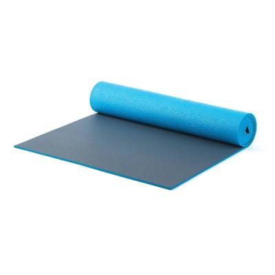 Stott Pilates and Yoga Mat - Blue/Gray XL (6mm)