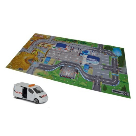 Dickie Toys Majorette Construction Playmat image number null