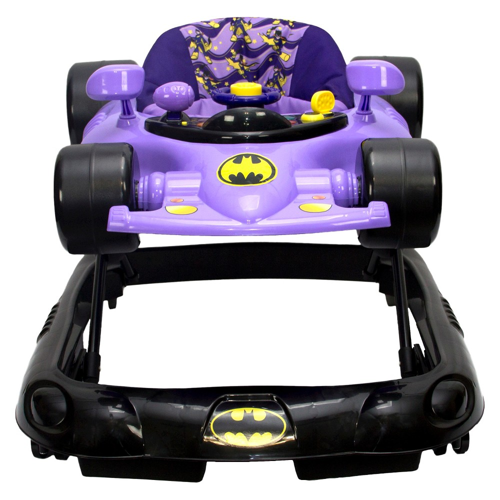 Image of KidsEmbrace DC Comics Baby Batgirl Walker, Yellow Black Purple