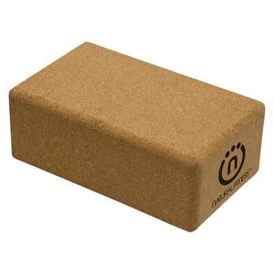 Lifeline Cork Yoga Block - Tan