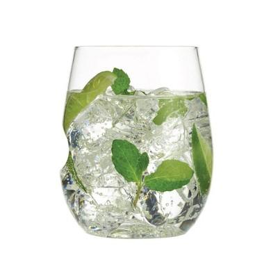 GoVino 12oz 2pk Plastic Wine Glasses