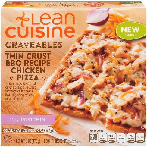 Lean Cuisine Casual Cuisine Wood Fire Style BBQ-Recipe Frozen Chicken Pizza - 6oz - image 1 of 3