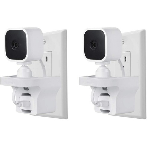 Wasserstein AC Outlet Mount Compatible with Blink Mini Home Security Camera (White) - image 1 of 4