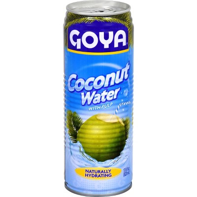 Goya Coconut Water with Pulp - 17.6 fl oz Can