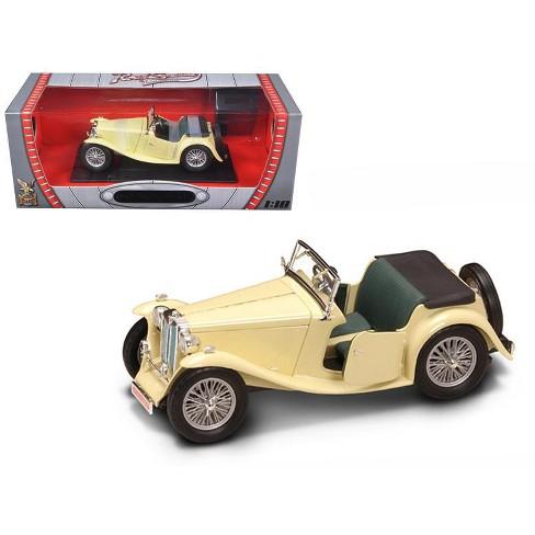 1947 Mg Tc Midget Yellow 1 18 Cast Model Car By Road Signature Target