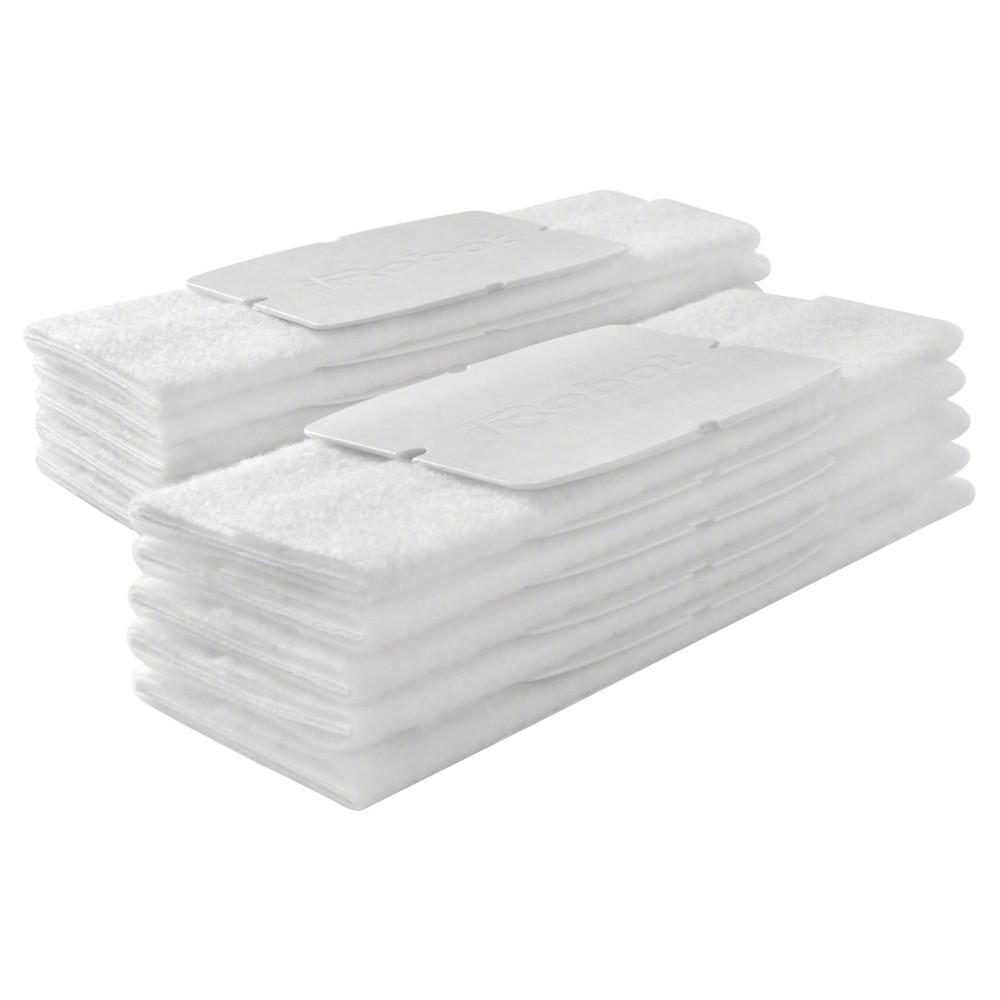Image of iRobot Braava jet Dry Sweeping Pads, 10ct, White