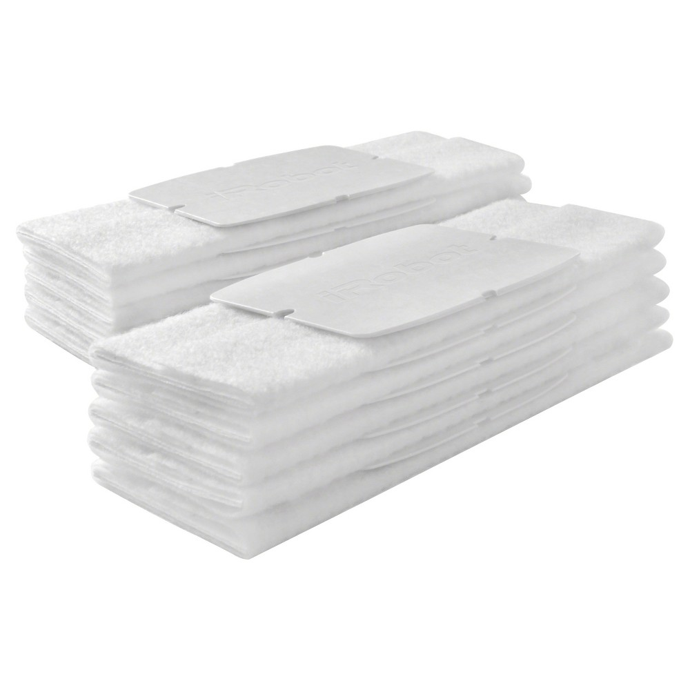 Image of iRobot Braava jet Dry Sweeping Pads, 10ct, White