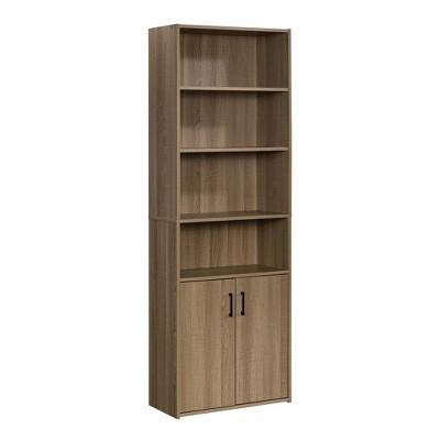 "71"" Beginnings Bookcase with Doors Light Brown - Sauder"