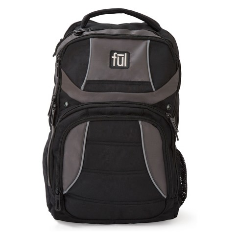"FUL 18"" Renegade Backpack - Black/Grey - image 1 of 1"
