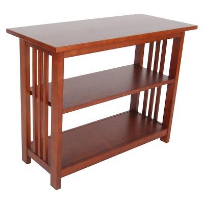 24  2-shelf Bookshelf Wood Cherry - Alaterre Furniture®
