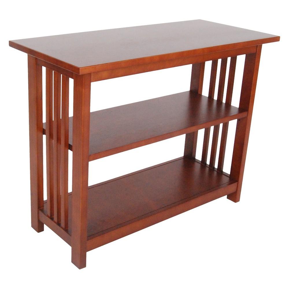 "Image of ""24"""" 2-shelf Bookshelf Wood Cherry - Alaterre Furniture"""