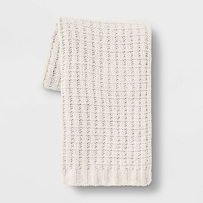Solid Chenille Throw Blanket - Threshold™
