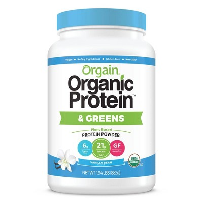 Orgain Organic Vegan Protein & Greens Powder - Vanilla Bean - 31oz