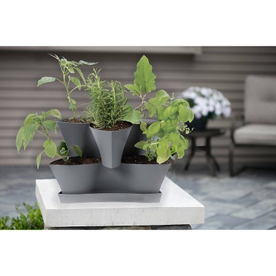 Collins Modular Multi-Level-Tier Vertical Herb Planter - Bloem