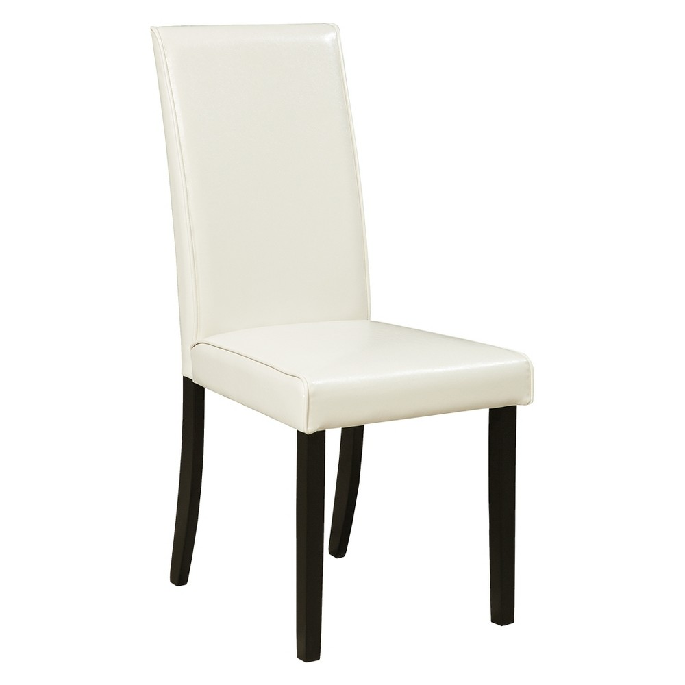 Set Of 2 Kimonte Dining Upholstered Side Chairs Ivory Signature Design By Ashley