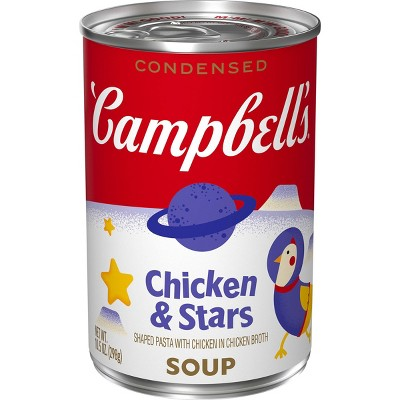 Campbell's Condensed Chicken & Stars Soup - 10.5oz