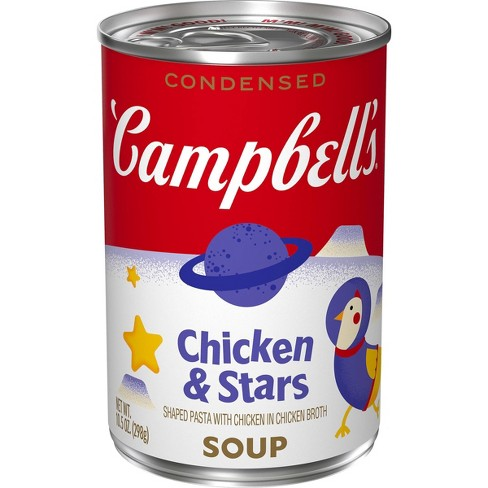 Campbell's Condensed Chicken & Stars Soup - 10.5oz - image 1 of 4