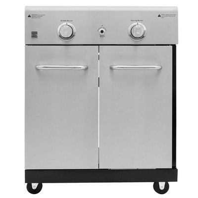 Kenmore PG-OK005 Cooking Station with Right Side Sear Burner and Left Side Burner with Griddle