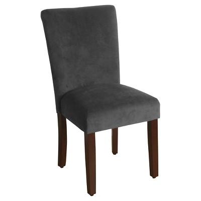 Set of 2 Parsons Velvet Dining Chair - HomePop