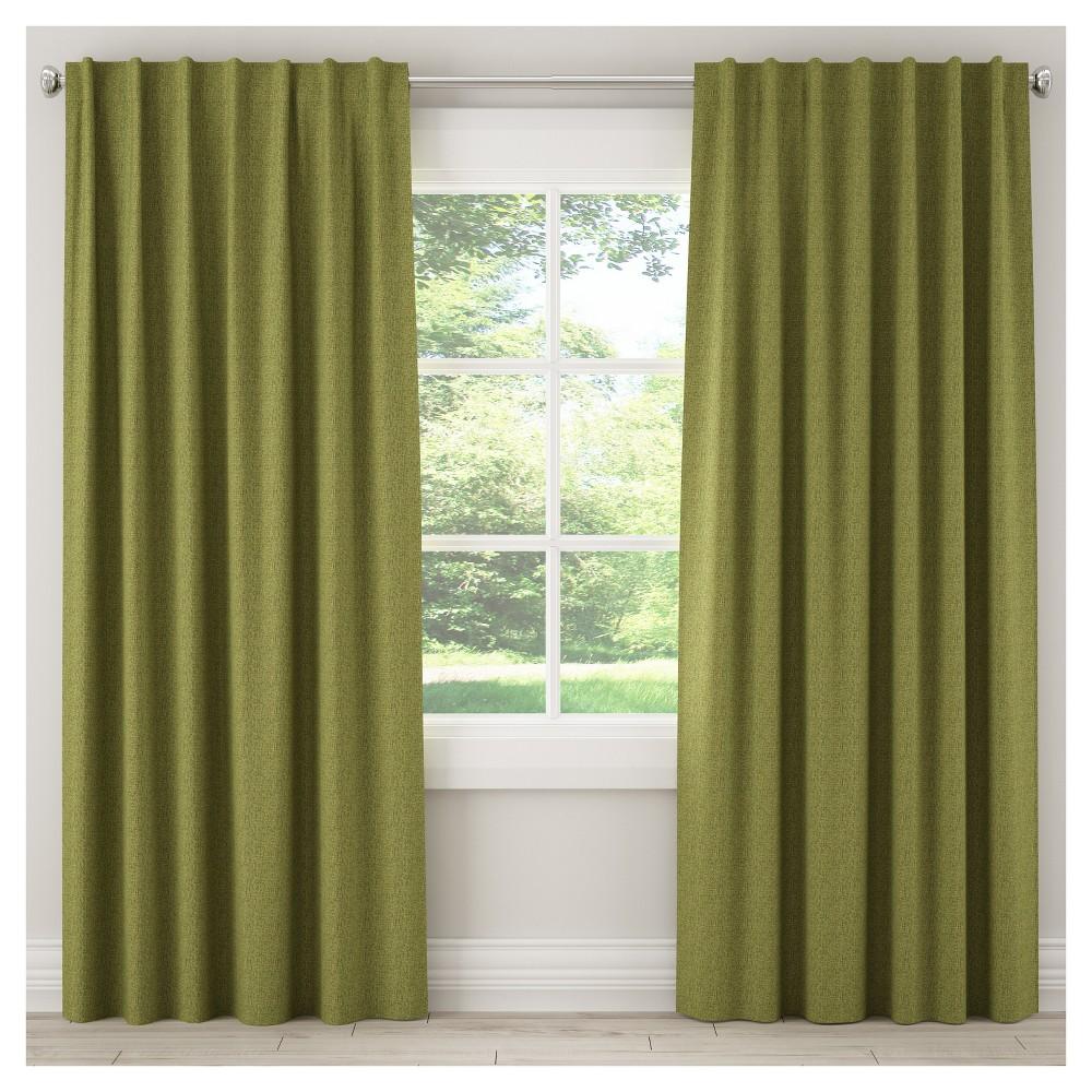 Blackout Zuma Curtain Panel Green (50